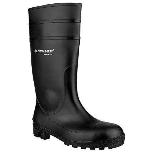 Dunlop FS1600 142PP Unisex Sicherheitsgummistiefel Schwarz
