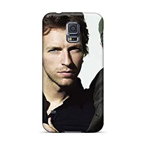 Samsung Galaxy S5 CLL19014MiXh Support Personal Customs High Resolution Coldplay Band Series Shock Absorption Hard Phone Covers -CristinaKlengenberg