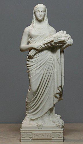 eter Ceres Harvest Fertility Goddess Greek Sculpture 9.84΄΄ ()