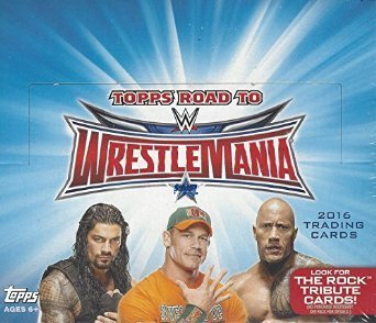 WWE Wrestling 2016 Road to WrestleMania Trading Card Hobby Box by WWE