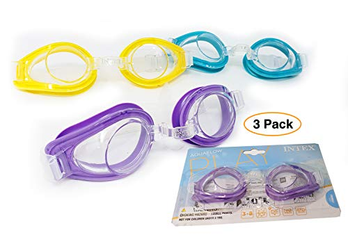 Intex Pool Swim Goggles Kids (3 Pack)