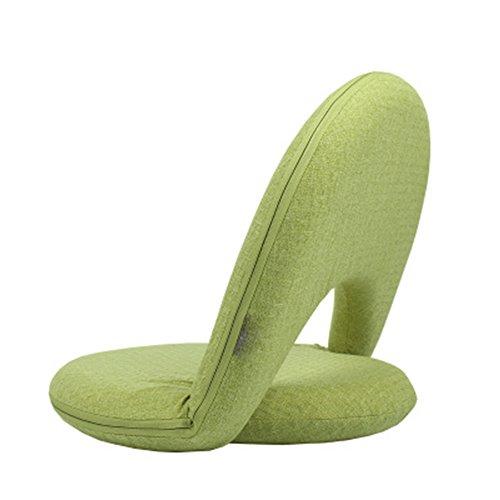 Silla de 5 Posiciones Ajustable, Asiento Cómodo para Niños Y Adultos para Suelo Y Suelo, Silla De Lactancia Glueless,Green