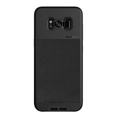 ویکالا · خرید  اصل اورجینال · خرید از آمازون · Galaxy S8 Case || Moment Photo Case in Black Canvas - Thin, Protective, Wrist Strap Friendly case for Camera Lovers. wekala · ویکالا