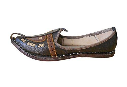 Uomo Pantofole Kalra Creations Kalra Creations Brown HqwIR4z