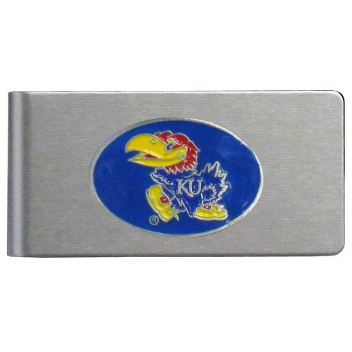 NCAA Kansas Jayhawks Brushed Money Clip