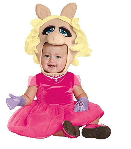 Miss Piggy Costumes For Toddlers (Toddler Halloween Costume- Miss Piggy Toddler Costume 3T-4T)