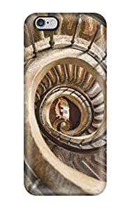 Fashionable Style Case Cover Skin For Iphone 6 Plus- Spiraling Stairs