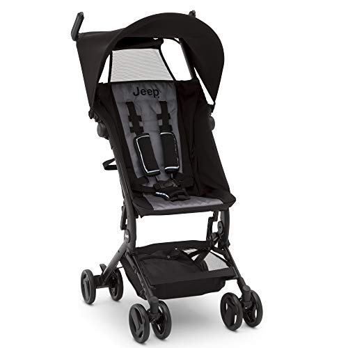 Sale!! Jeep Clutch Plus Travel Stroller with Reclining Seat by Delta Children, Black/Grey