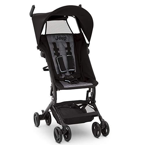 Sale!! Jeep Clutch Plus Travel Stroller with Reclining Seat by Delta Children, Black/Grey