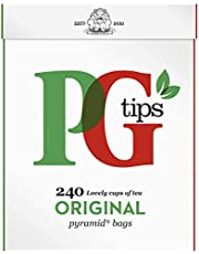 PG Tips Pyramid - originele zwarte thee, 240 theezakjes