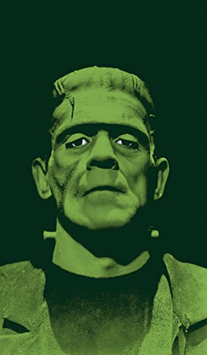 Halloween Window Silhouettes Cat Eyes (WOWindow Posters Frankenstein's Monster Scary Halloween Window Decoration 34.5