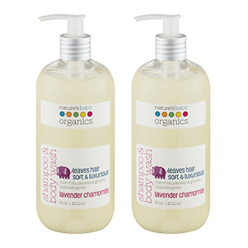 Natures Baby Organics Lavender Chamomile