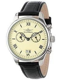 Breytenbach Men's BB8840BE Classic Analog Alarm Big Date Watch