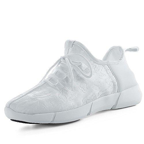 EU White Uomo 39 DIMAOLV Sneaker Bianco xwqBOaBSZ