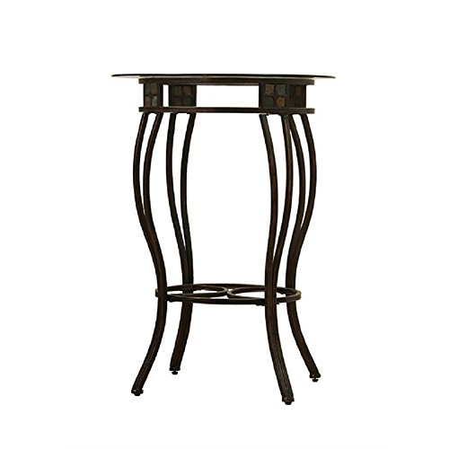 tal Pub Table, 42-Inch (Rustic Gold Slate)