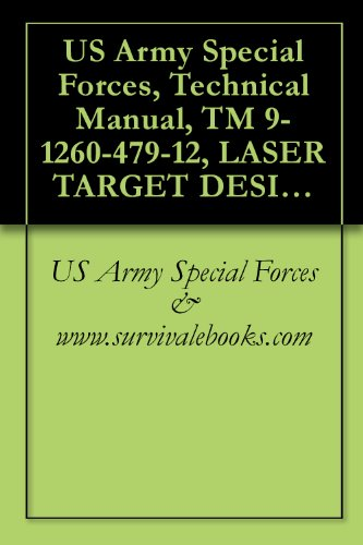 US Army Special Forces, Technical Manual, TM 9-1260-479-12, LASER TARGET DESIGNATOR AN/PAQ-1 (LTD), 1980
