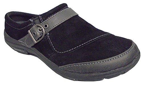 Merrell Petromus Slide Slip-en el zapato Black Suede