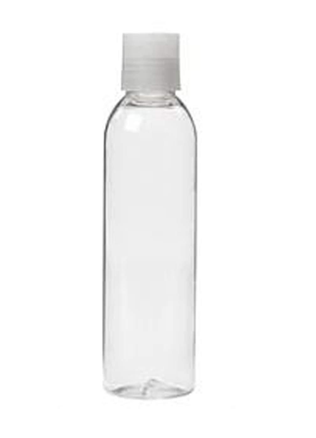 600 ML Botellas de Viaje Botella de pl/ástico Transparente de Pet Transparente con dispensador de Bomba de loci/ón Envases cosm/éticos Gel de Ducha de champ/ú Botella vac/ía