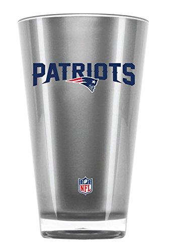 NFL New England Patriots 20oz Insulated Acrylic Tumbler