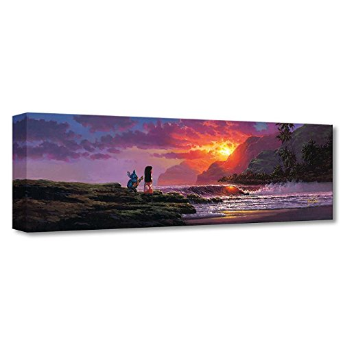 """A Song at Sunset"" Limited edition gallery wrapped canvas by Rodel Gonzalez from the Disney Fine Art Treasures collection; with COA."