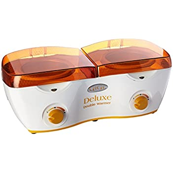 GiGi Deluxe Double Hair Removal Wax Warmer, 14 oz