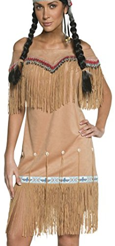 Smiffy's Women's Authentic Western Indian Lady Costume, D...