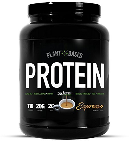 Run Everything Labs | Vegan Pro | Plant Based Protein | 30 Servings (Espresso)