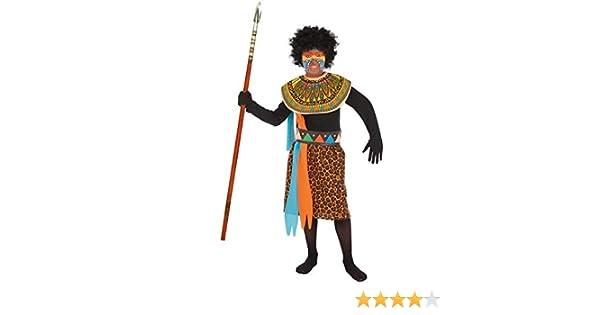 LLOPIS - Disfraz Infantil Africano t-1: Amazon.es: Juguetes y juegos
