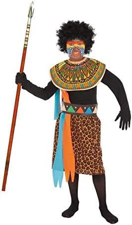 LLOPIS - Disfraz Infantil Africano t-5: Amazon.es: Juguetes y juegos