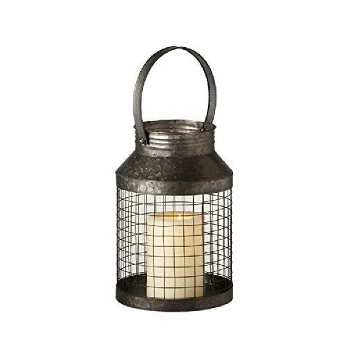 (Midwest-CBK Ganz Short Round Wire Mesh Lantern)
