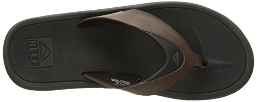 Reef Mens Moderno Sl Sandal Nero / Marrone