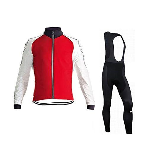 Maillot de cyclisme pour hommes Maillot de course Printemps Automne Maillot de vélo à manches longues Maillot de bain à séchage rapide