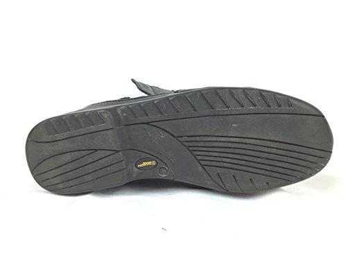 Hommes Noir 49-218 Moto Vélo Bottes En Cuir Imperméable À Leau Réfléchissant 3x Membrane
