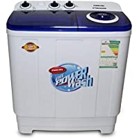 Nikai Twin tub Washing Machine 7Kg NWM700SPN20 - White and Navy