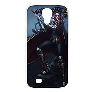 Vayne-001 League of Legends LoL case cover for Samsung Galaxy S4, GT I9500, I9005, I9006 - Plastic White