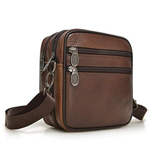 2018 Hot sale New fashion genuine leather men bags small shoulder bag messenger crossbody leisure for L4-2672