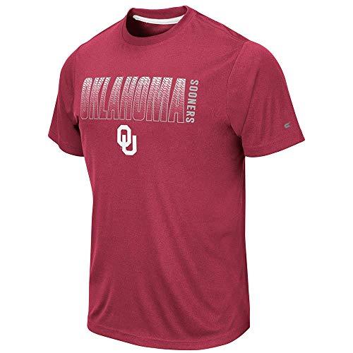 - Colosseum Mens Oklahoma Sooners Hamilton Short Sleeve Tee Shirt - L