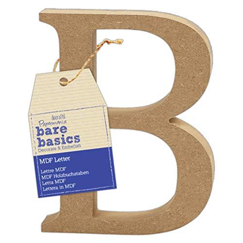 MDF Letter (1 Piece) – Bare Basics – B