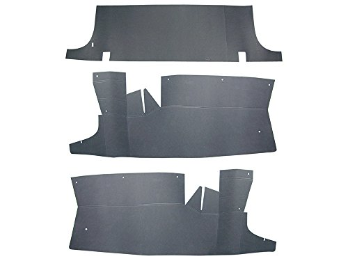 - Trunk Filler Boards 3-Pc Set Seat Divider & 2 Sides Fits 1963-64 Galaxie Custom Sedan Hardtop Convertible 500 XL (FD105)