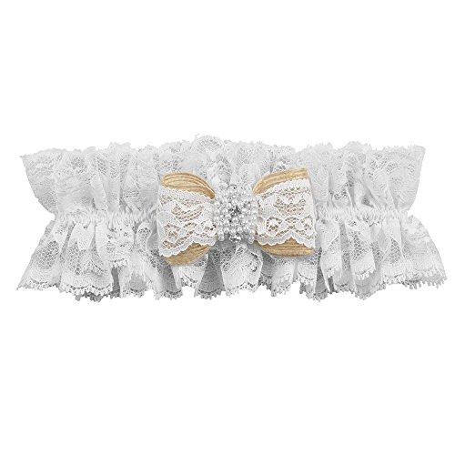 Ivy Lane Design Selina Collection Garter, White