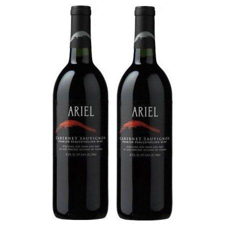 Ariel Cabernet Sauvignon Non-alcoholic Red Wine Two