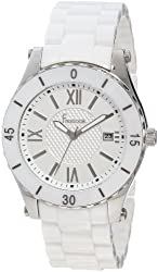 Freelook Women's HA5113-9 All White Cermaic White Dial Watch