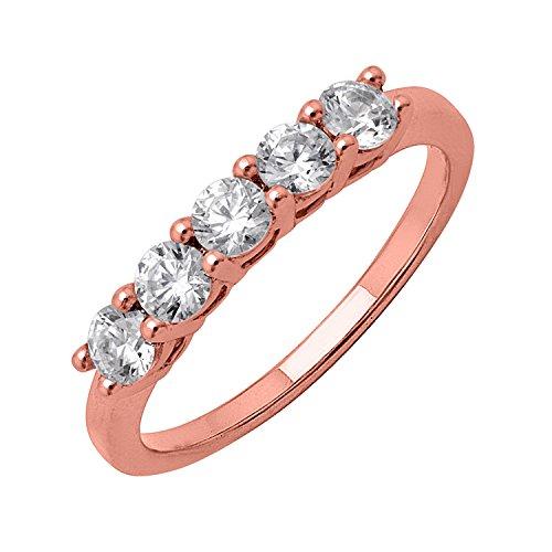 IGI Certified Prong Set Diamond Wedding  - Prong Set Diamond Eternity Band Shopping Results