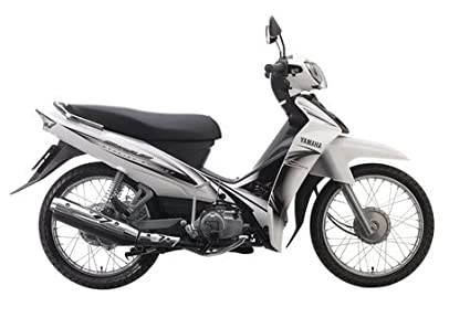 Amazon com : thaiFH com New Yamaha Sirius White 110cc Motorcycle