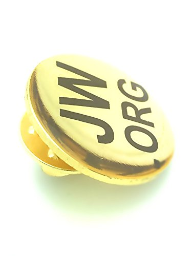 Jw.org Golden Lapel Pin 5 Pins (Dome Lapel Pin)