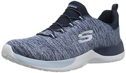 Skechers Marine Sneaker Dynamight Slipper Blau Grau GYLP Through Rosa 12991 Break Damen rHARqrxw