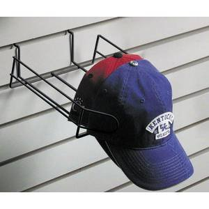 Retail Resource EBL/CAPGWCAPB Wire Hat Display for Slat Wall, - Hat Slatwall