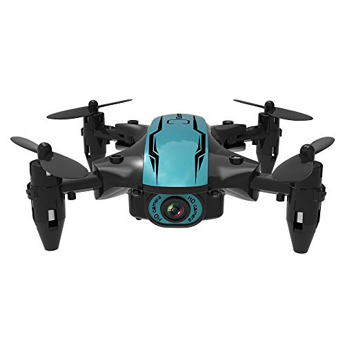 Sunydog CS02 WiFi FPV Drone with 4K HD Camera/Tap-fly/App Control/Head-free Mode for Adults Ultralight and Foldable…