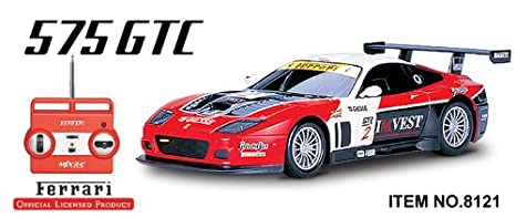 120 Licensed Ferrari 575 GTC RC CAR Re Chargeable