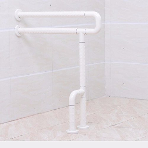 HQLCX Handrail Armrest Of Toilet Barrier Free Bathroom For Old People,White by HQLCX-Handrail
